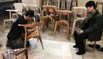 2018.5.20 / 椅子のフィッティング