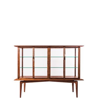hyuece glass cabinet