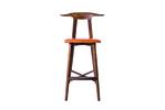 sim arm counter chair