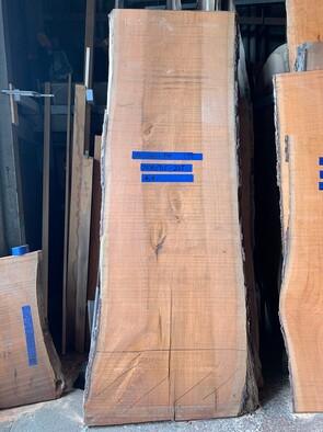 チェリー一枚板<br />W2100(ワレ400) D800 T75<br />20210715-225