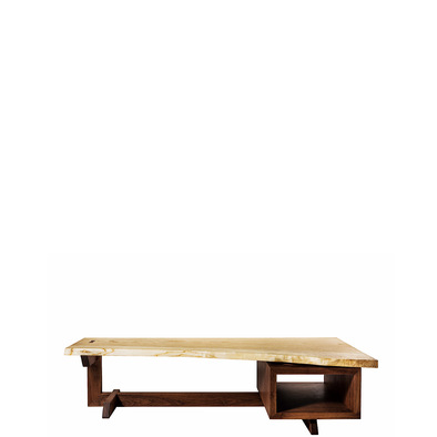solid wood low desk square-03