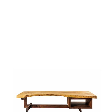 solid wood low desk square-01