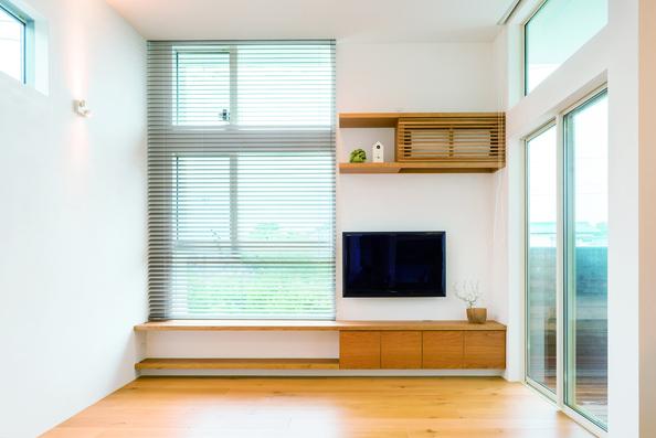 TVボード&エアコン隠し