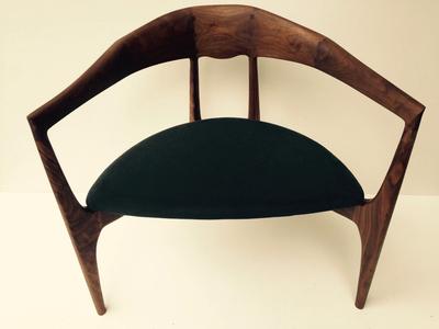 無垢家具|ウォールナット|cocoda試作ダークグレー