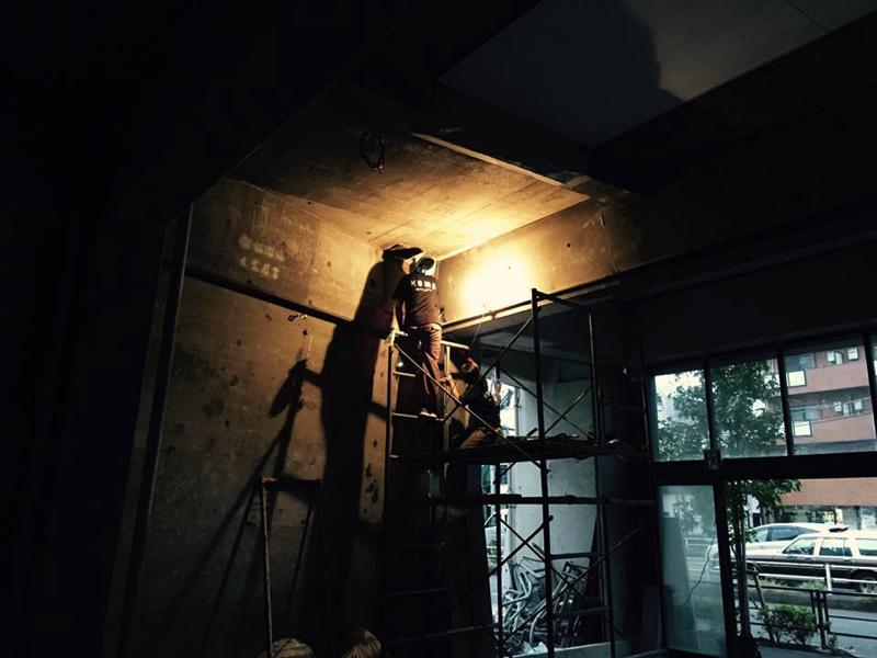 無垢家具|新店舗|作業