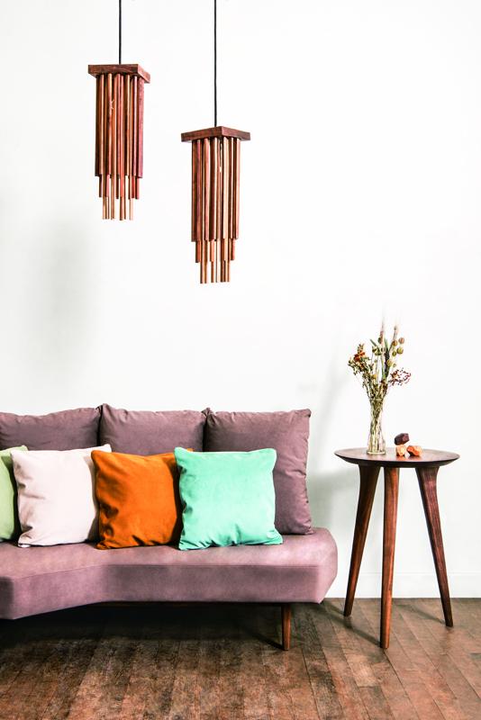 ウォールナット|無垢家具|tiesofa|丸テーブル