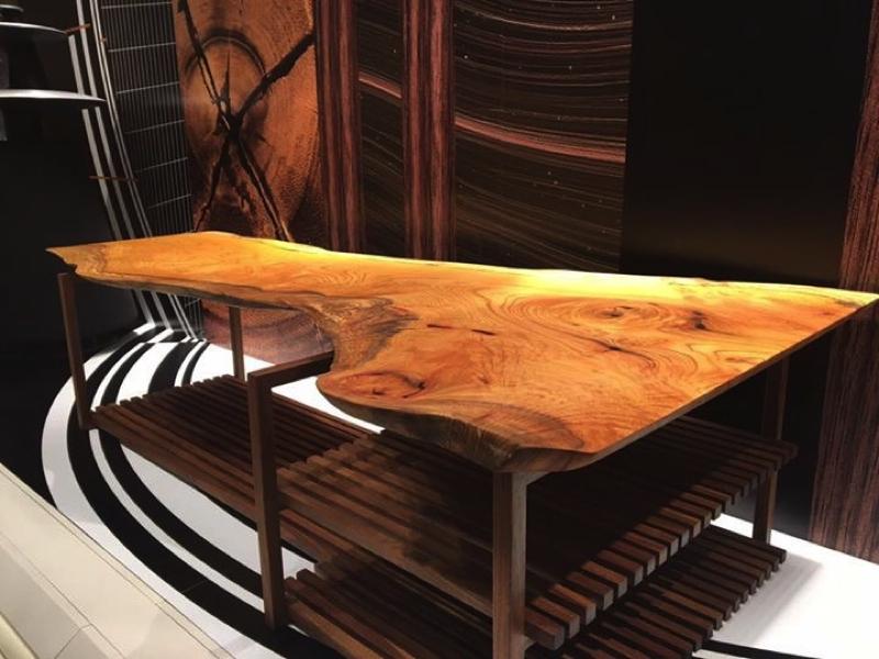 無垢家具|一枚板|アートフレーム|斜め
