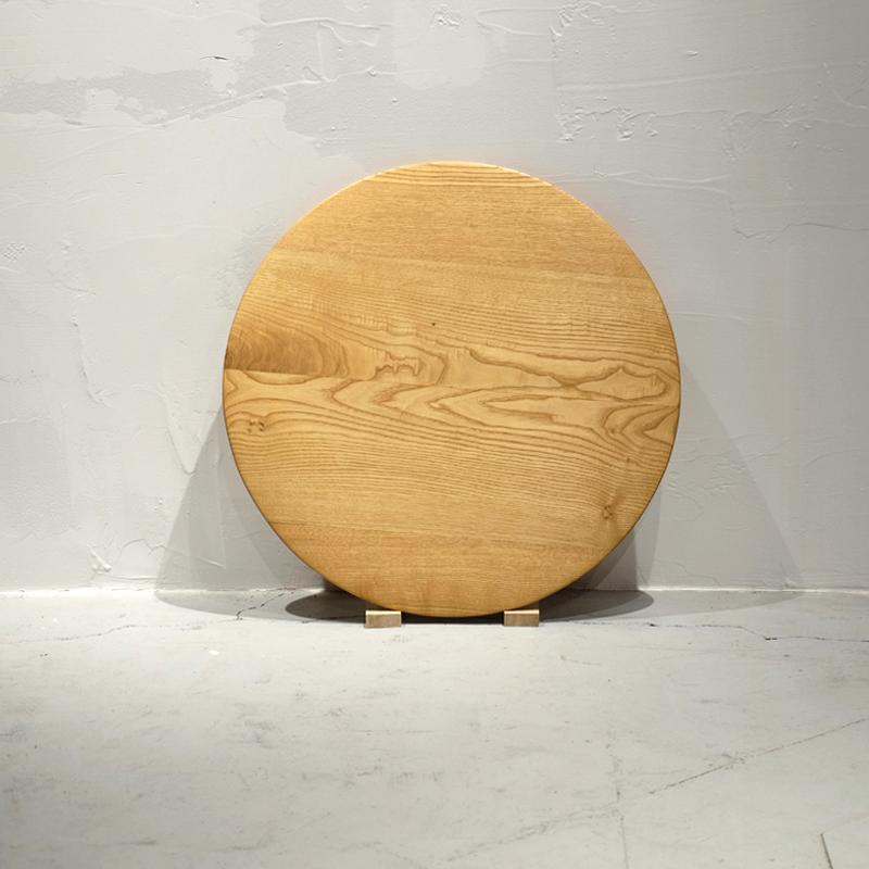 無垢家具|丸テーブル|栗スクエア