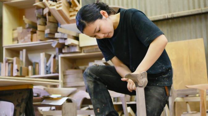 無垢家具|職人女子|木工女子||武内舞子